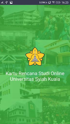 KRS Online Unsyiah screenshot 1