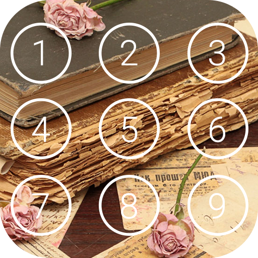 Vintage Lockscreen Theme - Keypad & Pattern