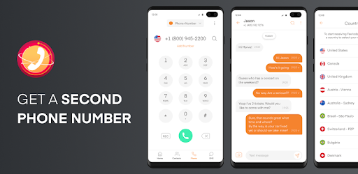 Phoner 2nd Phone Number Texting Calling App Apps On Google Play