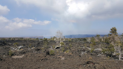 Photo: Good view to the active crater.