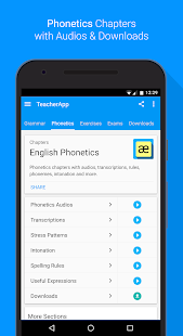 English Grammar & Phonetics Screenshot