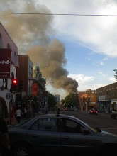 Photo: Evidence of Fire from Afar