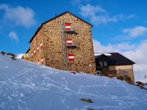 Photo: Breslauer Hutte, základna pro výstup na druhou nejvyšší horu Rakouska, Wildspitze (3774 m)