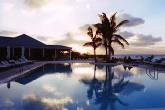 """Photo: #009-Le Club Med """"Columbus Isle"""" dans l'île San Salvador"""