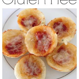 Gluten Free Pizza Bites made with Tapioca Flour.