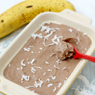 Chocolate Coconut Banana Ice Cream