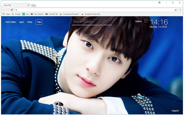 Kpop Wanna One HD Wallpapers New Tab Themes