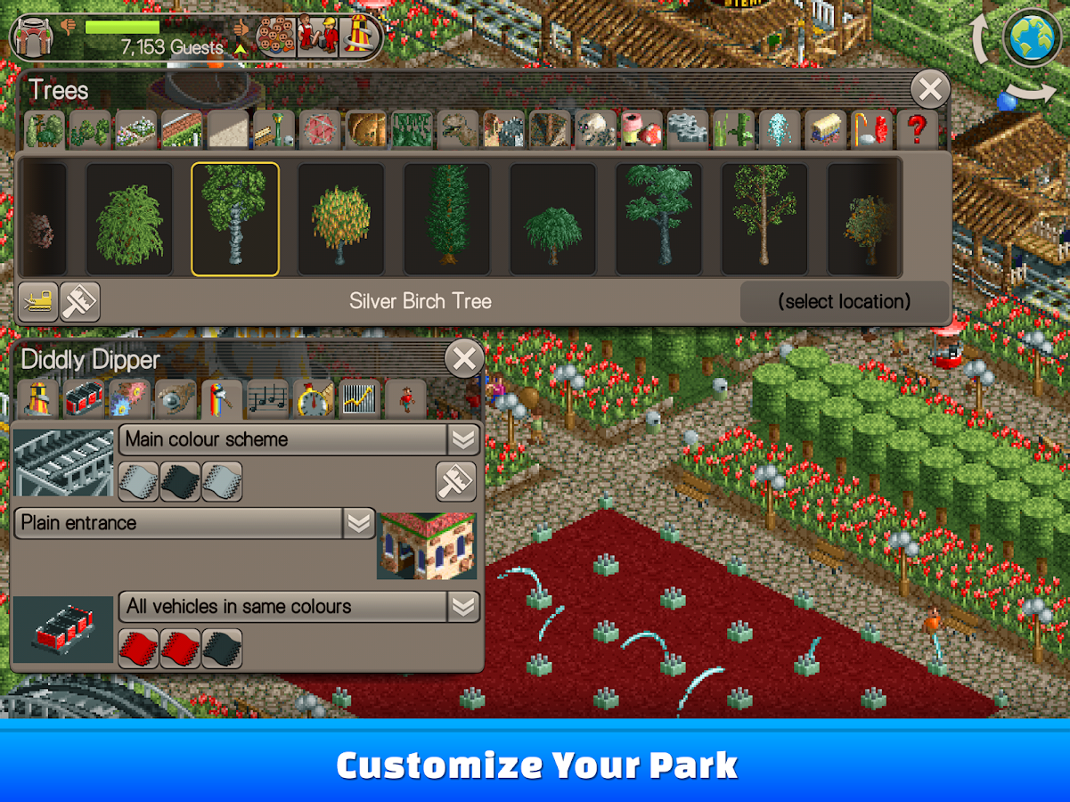 RollerCoaster Tycoon® Classic- screenshot