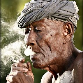 by Azmi Han - People Portraits of Men ( senior citizen )