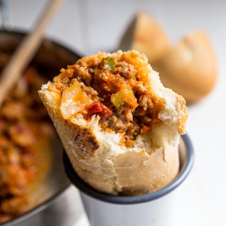 Spicy Italian Stuffed Subs