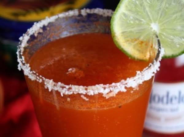 Red Eye (beer 'n Tomato Or Clamato Juice) Recipe