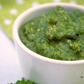 Cilantro & Mint Vegan Pesto