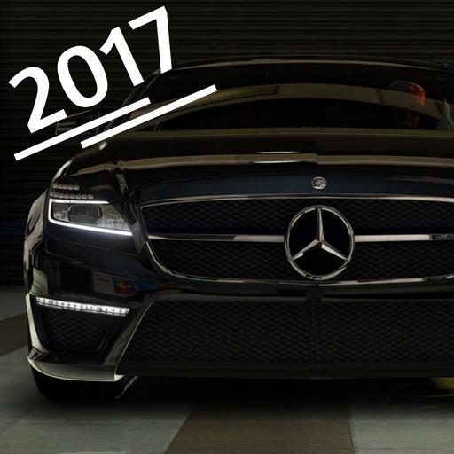 CLS Driving Mercedes 2017