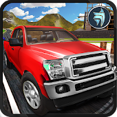 Pickup Truck OffRoad Hill Driving Simulator