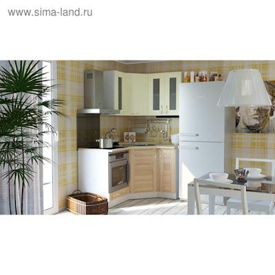 Кухонный гарнитур Камилла литл 1200*1500