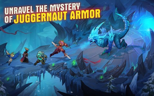 Juggernaut Wars: RPG Arena with dungeons & raids- screenshot thumbnail