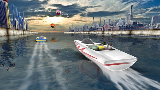 Download extreme speed boat racing water surfer game for pc for Boat garage on water