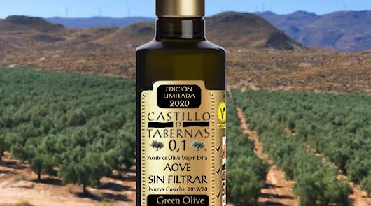Castillo de Tabernas presenta Green Olive Sin Filtrar de la nueva cosecha