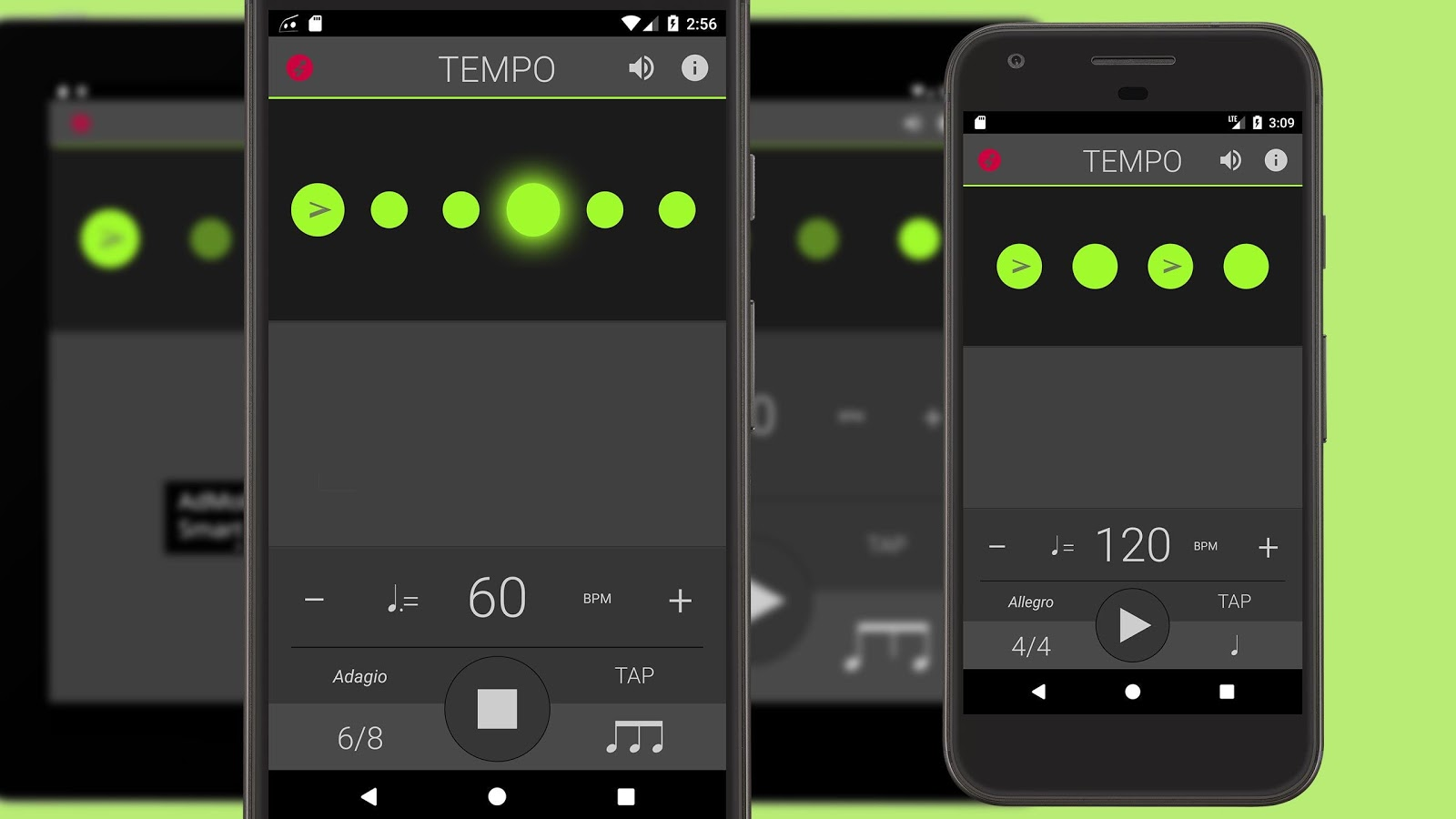 Screenshots of Metronome: Tempo Lite for iPhone