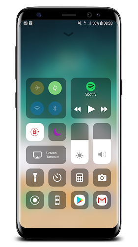 Control Center IOS 12 Android App Screenshot