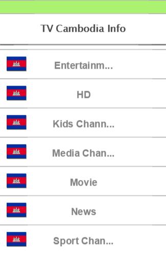 TV Cambodia Info