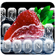 Water Splash 4k Fruit Keyboard Theme APK Descargar