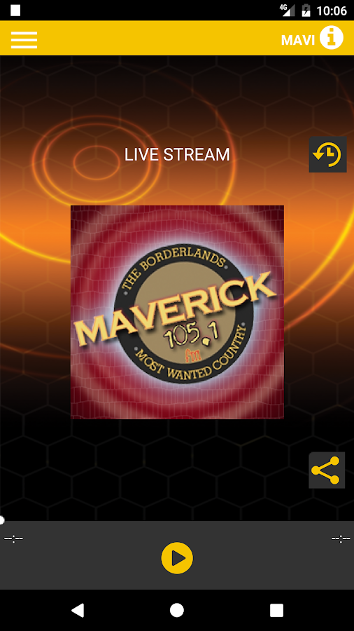 Maverick 105.1 FM- screenshot