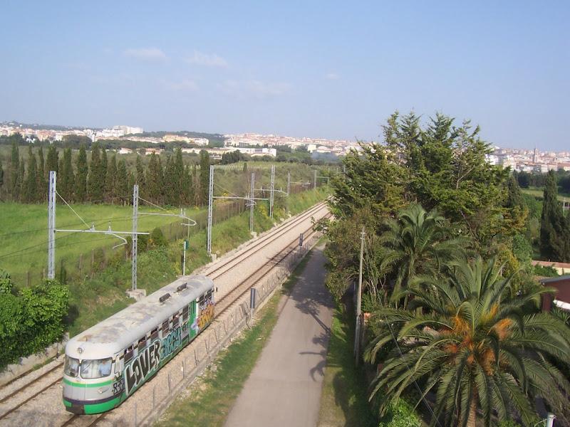 viaggiare con il trenino di Pretoriano