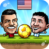 ⚽Puppet Soccer 2014 - Big Head Football 🏆