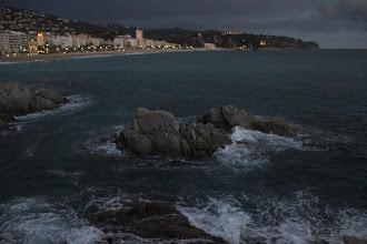 Photo: ... à la tombée de la nuit ...