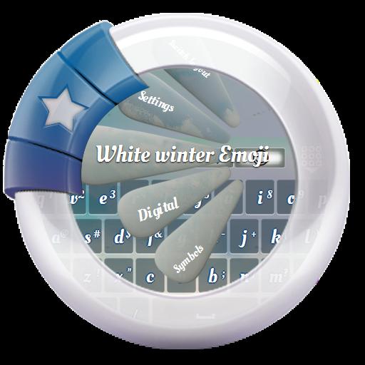 하얀 겨울 GO Keyboard 個人化 App LOGO-APP試玩