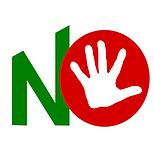 Logo ufficiale comitato per il NO nel referendum Costituzionale