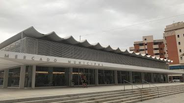 Fachada del Mercado de Abastos de Roquetas de Mar. Foto: F. Cuadrado