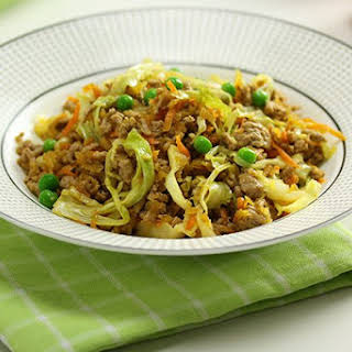 Pork & Cabbage Stir Fry.