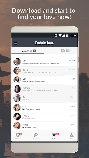 Date in Asia - Dating & Chat For Asian Singles 6.1.0 Screenshots 5