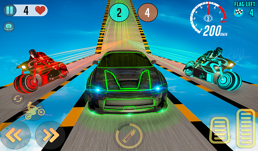 Mega Ramp Light Bike Stunts: New Bike Racing Games 2.0.0 screenshots 16