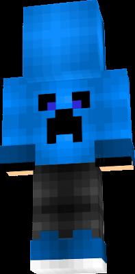 Blue Nike Creeper Hoodie
