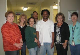 Photo: HTSF Screeners at Johnson Space Center: Linda, Rori, Me, Chad, David, Kathy & Wanda