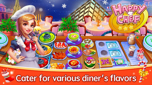 Happy Chef - Cooking Game screenshots 1