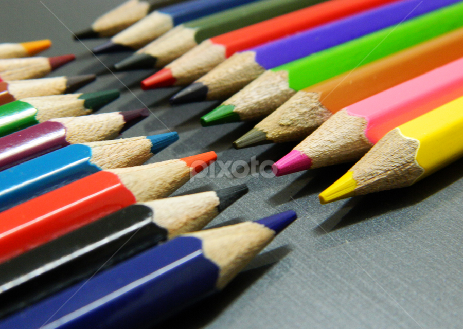 Pencil Arts by SUBHAJIT PANJA - Artistic Objects Other Objects ( art, color pencil, perspective, artistic object, colorfull,  )