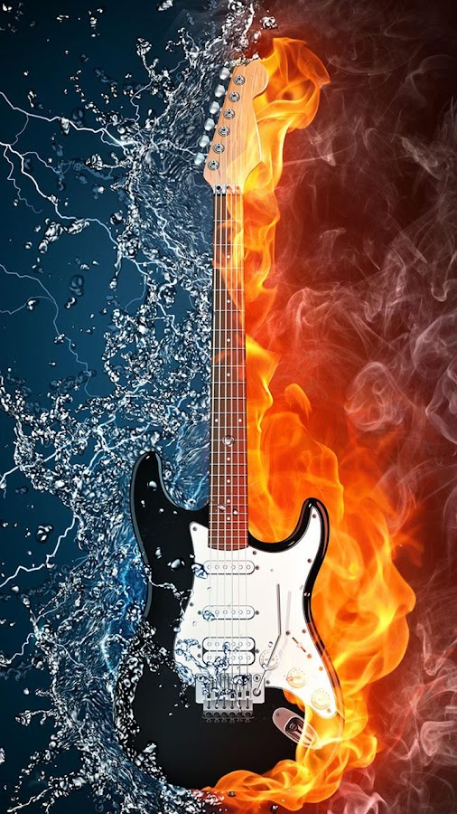 Guitar Live Wallpaper- screenshot