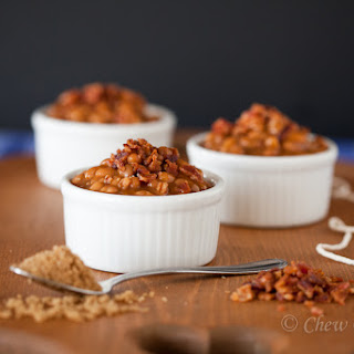 Brown Sugar Baked Beans with Bacon.