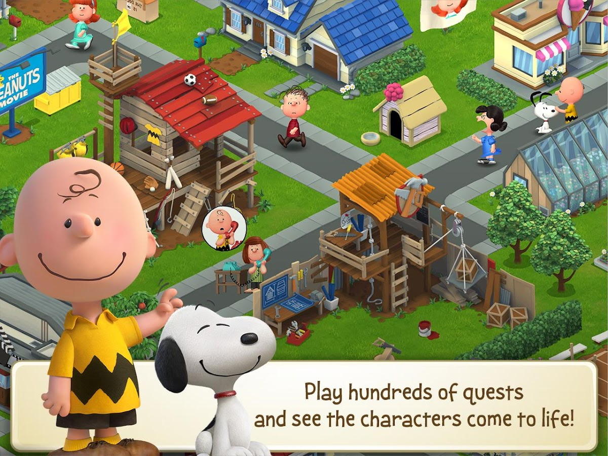 Peanuts: Snoopy's Town Tale- screenshot