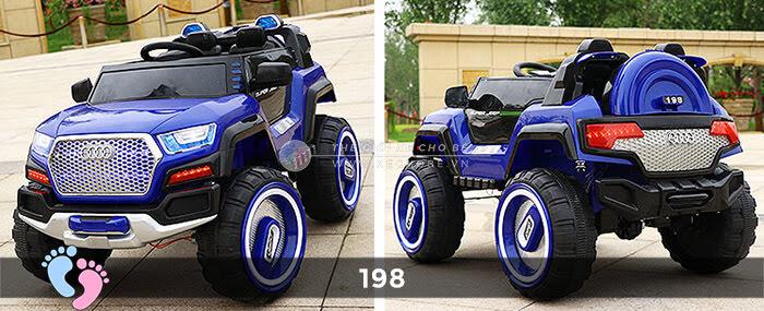 Siêu xe ô tô điện 4 động cơ 198 6