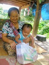 Photo: Lahu grandmother with baby girl