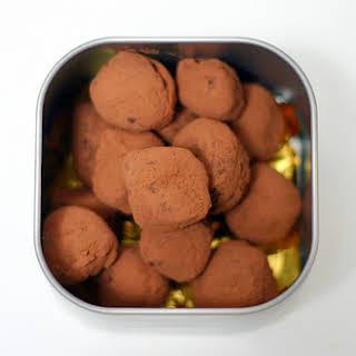 Hazelnut Truffles.