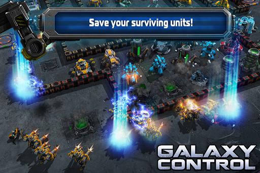 Galaxy Control: 3D strategy  screenshots 1