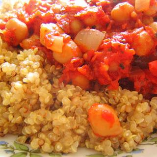 Chickpea Ratatouille & Quinoa