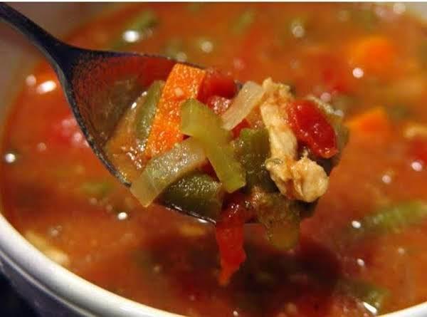 Simple Healthy Crockpot Italian Chicken Vegetable Recipe