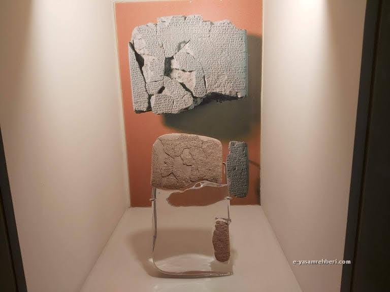 eski şark eserleri müzesi kadeş antlaşması